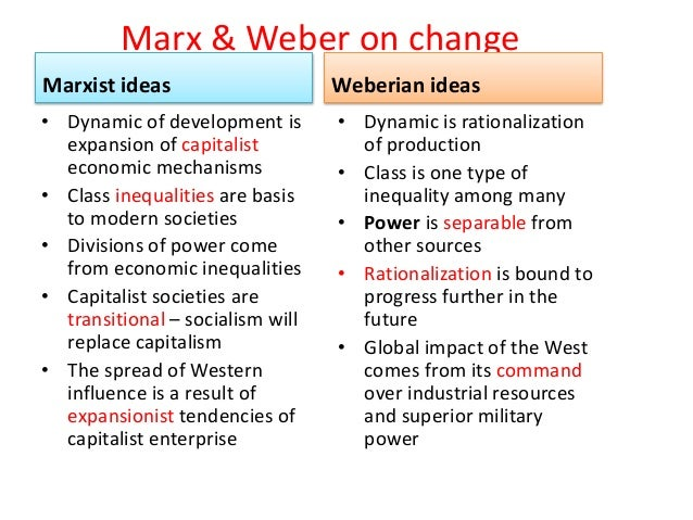 compare and contrast the marxist and But there are considerable differences between the marxist and millsian  perspective, firstly surrounding their differing conceptions of freedom marx  conceives.