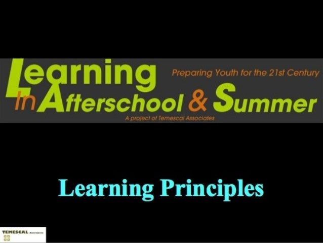 For more information:   Visit our website atwww.learninginafterschool.org