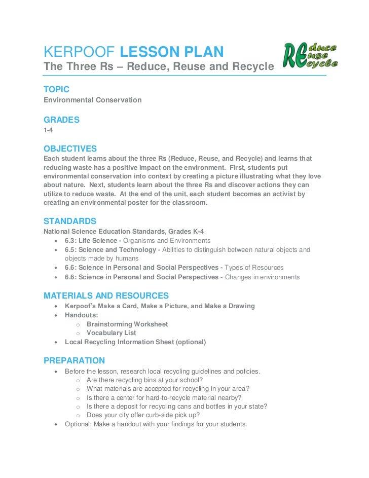 Reduce reuse recycle – Reduce Reuse Recycle Worksheets
