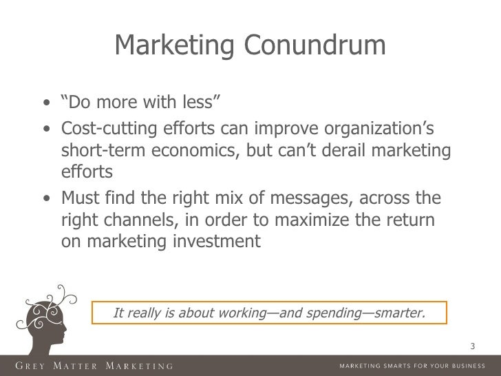 Making Every Dollar Count in Healthcare Marketing Slide 3