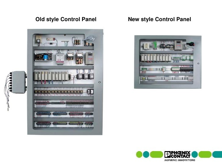 Reducing electrical control panel size for Electrical panel sizes