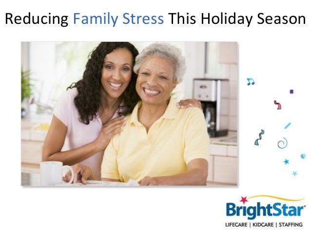 Reducing Family Stress This Holiday Season