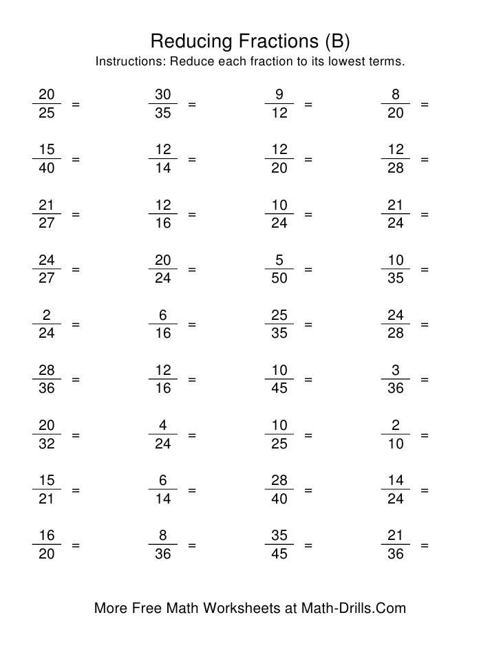 Reducing Fractions Worksheet 5th Grade Delibertad – Simplify Fractions Worksheets