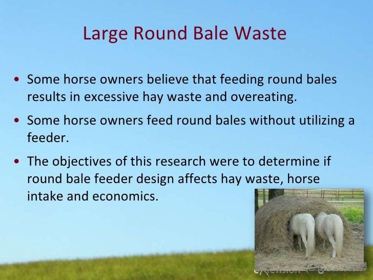 Reducing Hay Waste Martinson