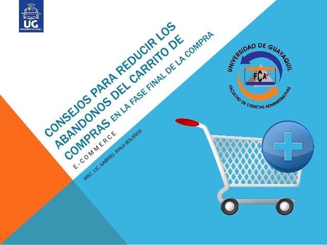 INTRODUCCIÓNUna vez que la tienda online atrae a un usuario,es esencial cerrar la venta.Costes de envío, relación calidad/...