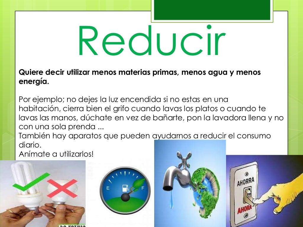 Carteles de reducir, reutilizar y reciclar – Bilingual ... |Reducir Reutilizar Y Reciclar