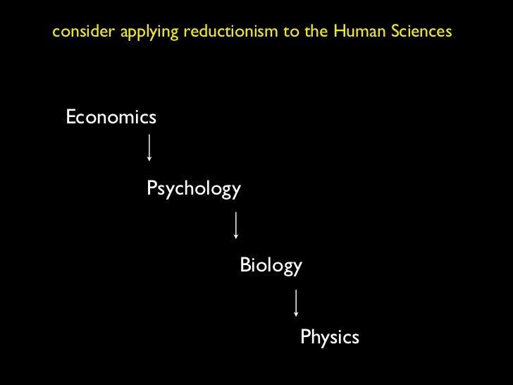 holism vs reductionism essay
