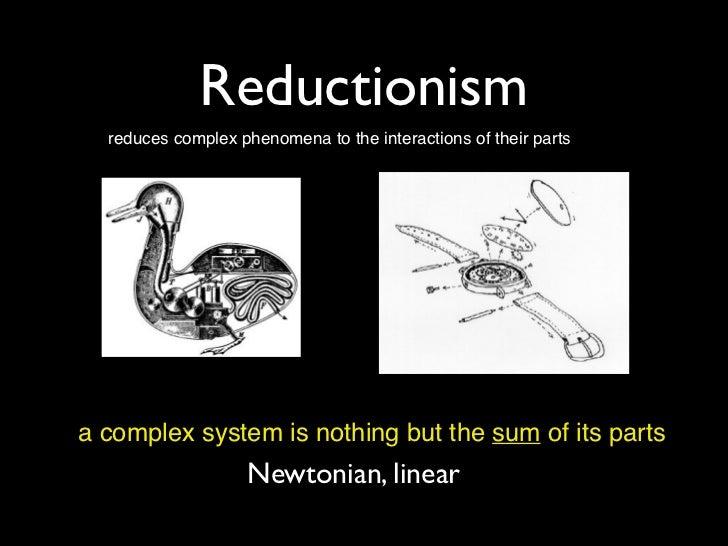 Holism vs reductionism essay examples
