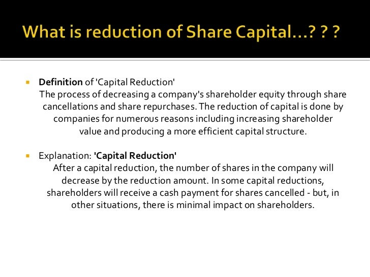 what is the definition of reduction