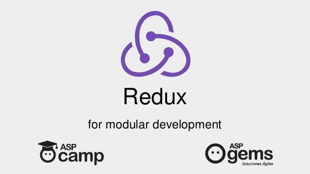 Redux for modular development