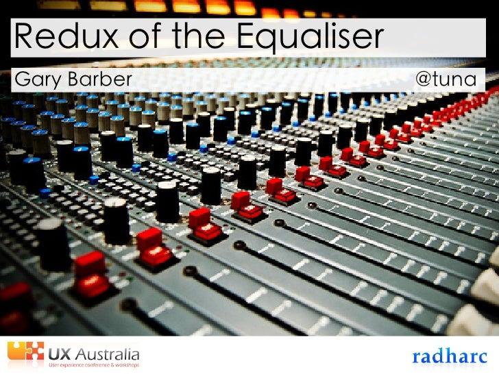 Redux of the Equaliser