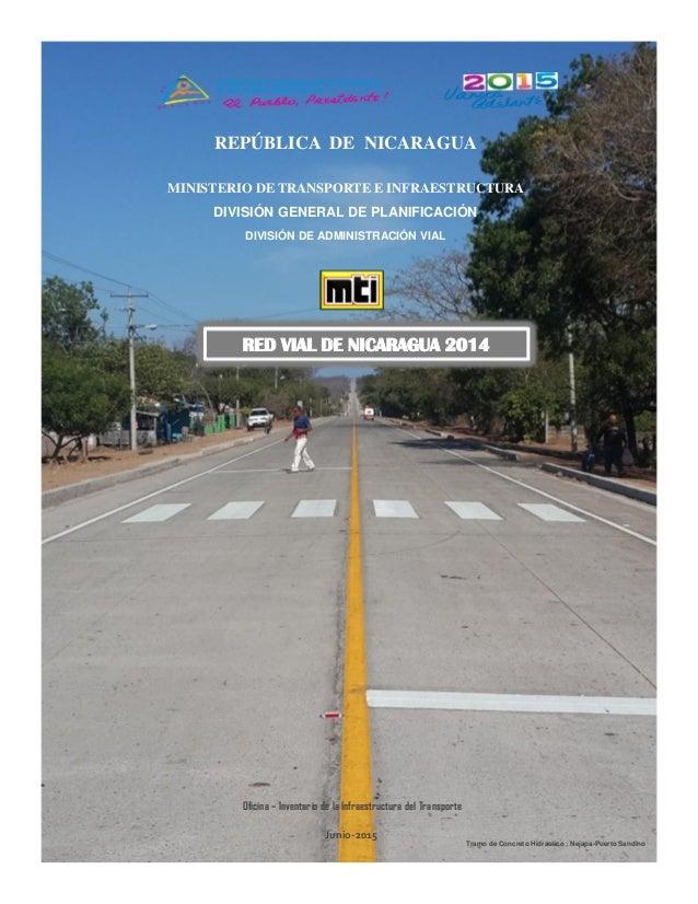 Red Vial De Nicaragua 2014