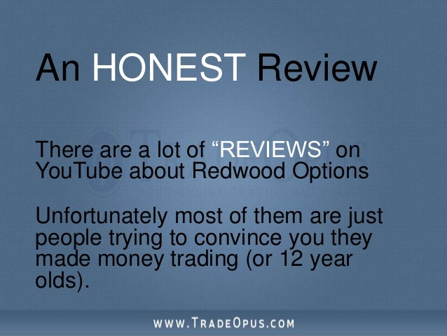 Redwood binary options review