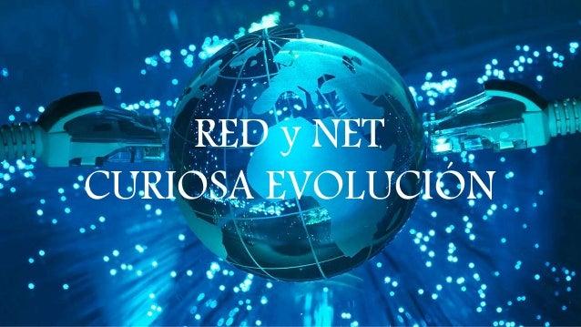 RED y NET CURIOSA EVOLUCIÓN