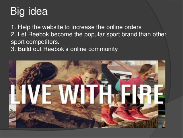 reebok target audience Marketing the chuck taylor canvas  what can the brand do to reinvent itself and target a modern, 21st century audience  several years ago reebok introduced a.