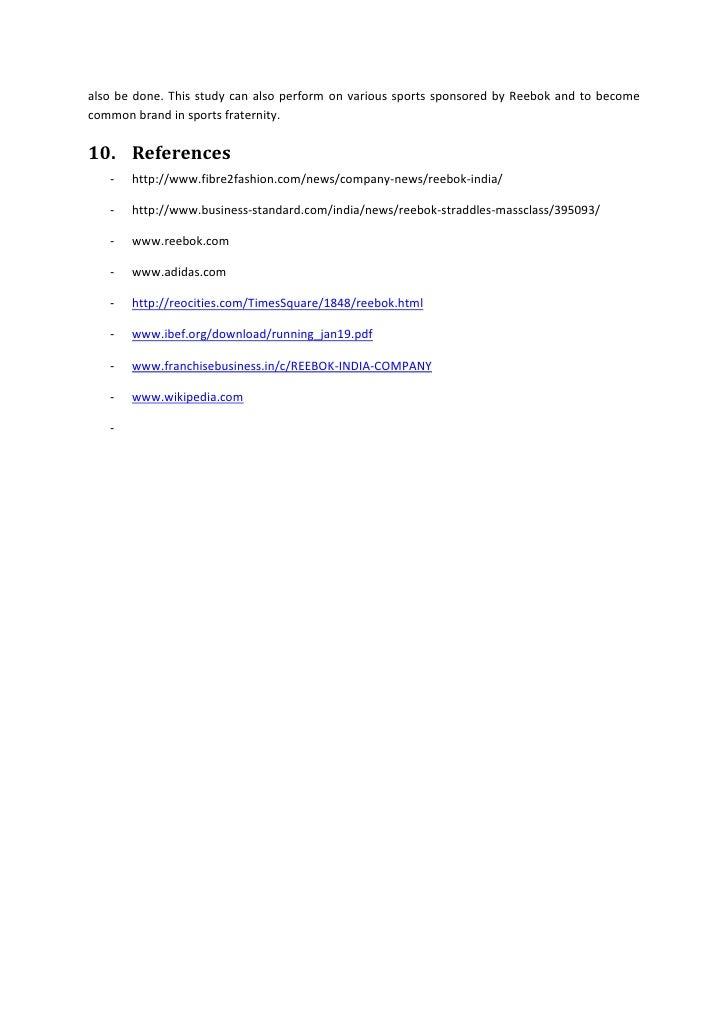 418b69a17c8 ... Reebok in international market can  28. ...