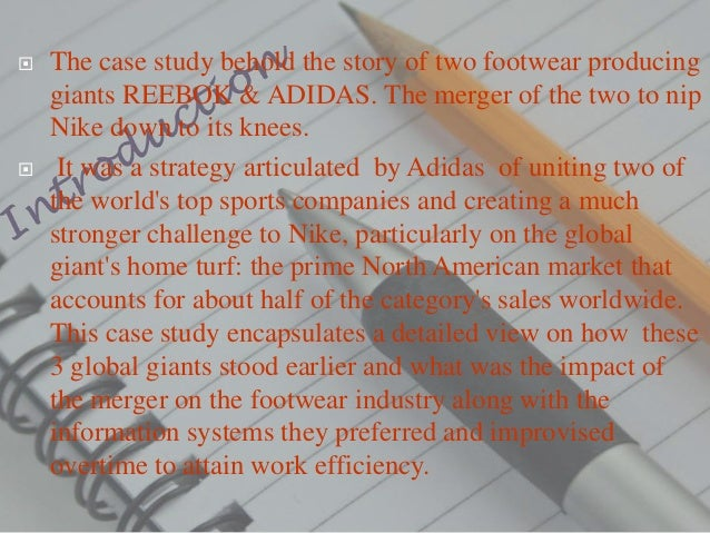 adidas reebok merger claim go through free
