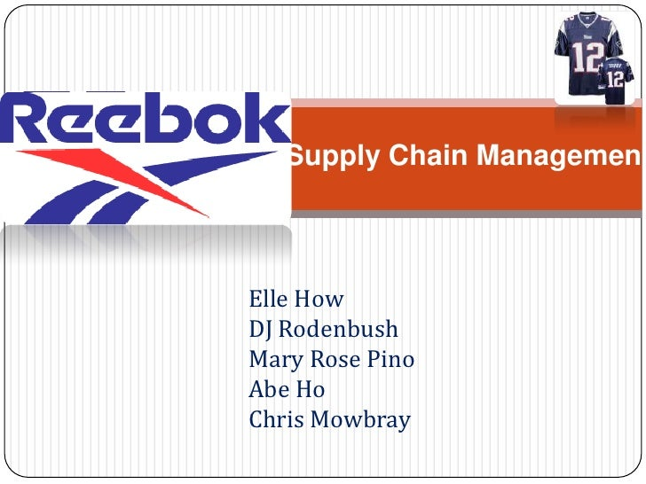 Supply Chain Management<br />Elle How<br />DJ Rodenbush<br />Mary Rose Pino<br />Abe Ho<br />Chris Mowbray<br />