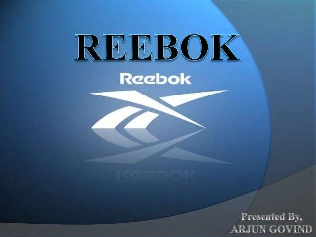 Reebok ppt presentation 844be208f