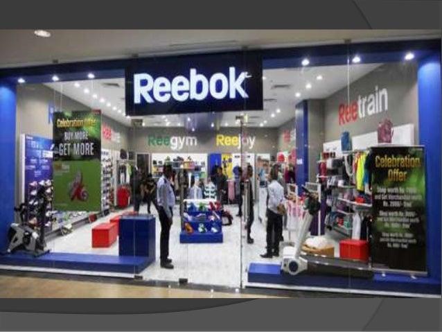 marketing mix of reebok company
