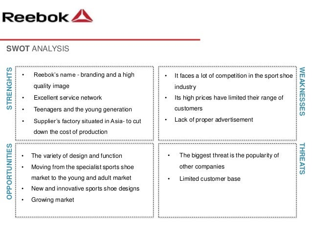 pricing strategy of reebok Reebok marketing analysis as a result of their new pricing strategy asa strategy, reebok has been focused on blending sports technology with.