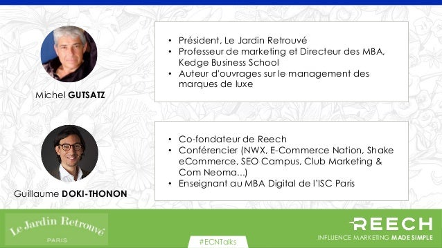 Comment développer une relation entre votre marque et des influenceurs Slide 2