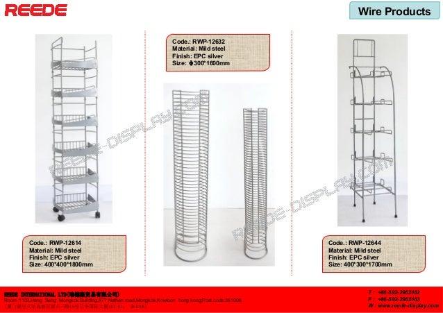 Wire Products REEDE INTERNATIONAL LTD(瑞德隆贸易有限公司) Room 1103,Hang Seng Mongkok Building,677 Nathan road,Mongkok,Kowloon hong...