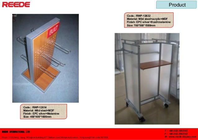 REEDE INTERNATIONAL LTD Room 1103,Hang Seng Mongkok Building,677 Nathan road,Mongkok,Kowloon hong kong;Post code:361006 T ...