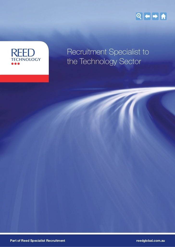 Recruitment Specialist to                                      the Technology SectorPart of Reed Specialist Recruitment   ...
