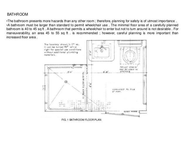 Barrier Free Design Washrooms
