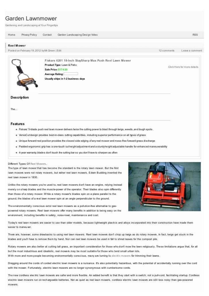 Garden LawnmowerGardening and Landscaping at Your Fingertips  Home         Privacy Policy     Contact       Garden Landsca...