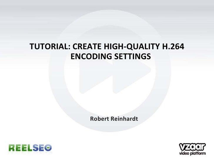 tutorial  create high