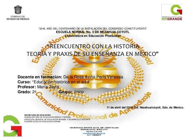 SAN MATEO ESQ. NARVARTE S/N, COL. AMP. VICENTE VILLADA NEZAHUALCOYOTL, MÉXICO, 57710 TEL/FAX 57-97-16-43 normal3neza@prodi...
