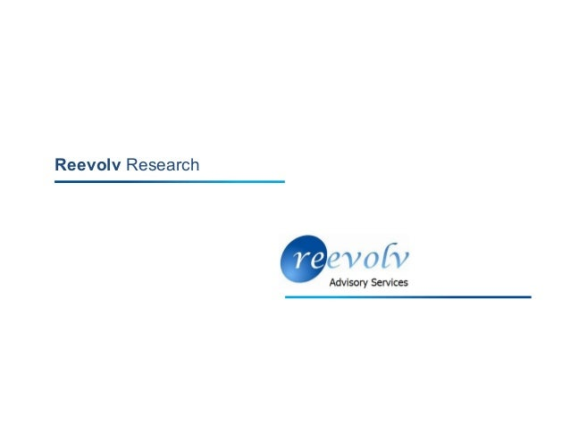 Reevolv Research