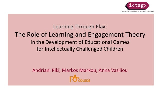 learning through play theory