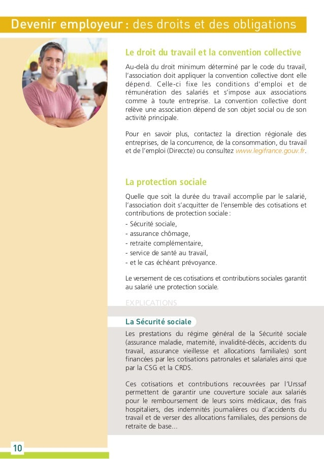 Guide urssaf l association et la protection sociale - Bureau commun des assurances collectives ...