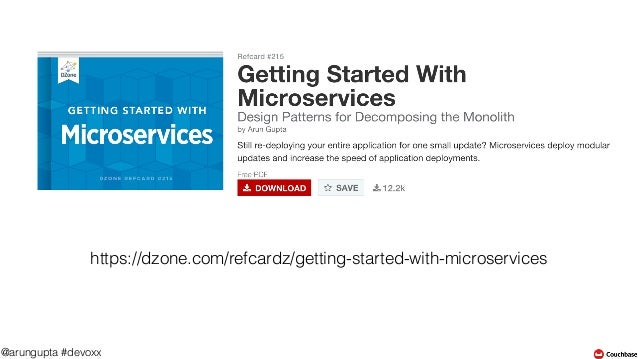 Microservices Design Patterns for Java Application