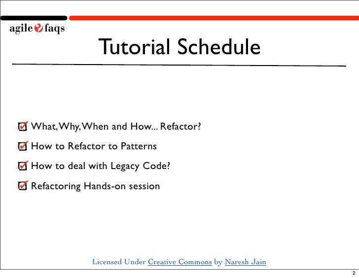 Refactoring Fest Slide 2