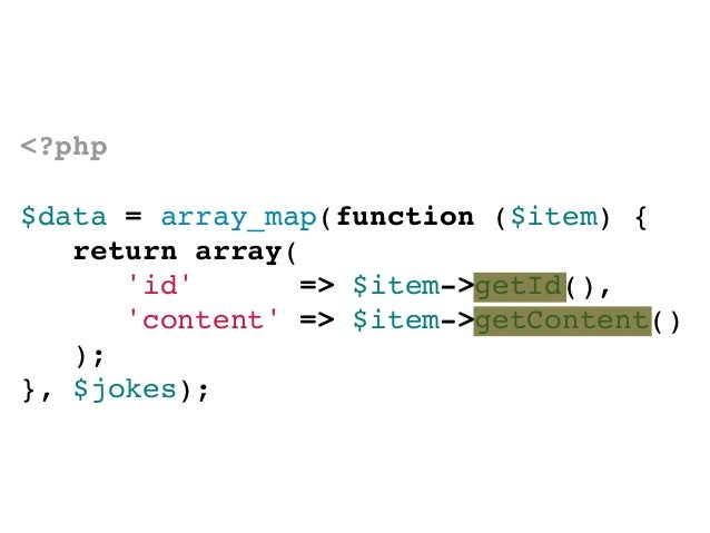 Un cambio en datos oconfiguración no deberequerir cambiar código