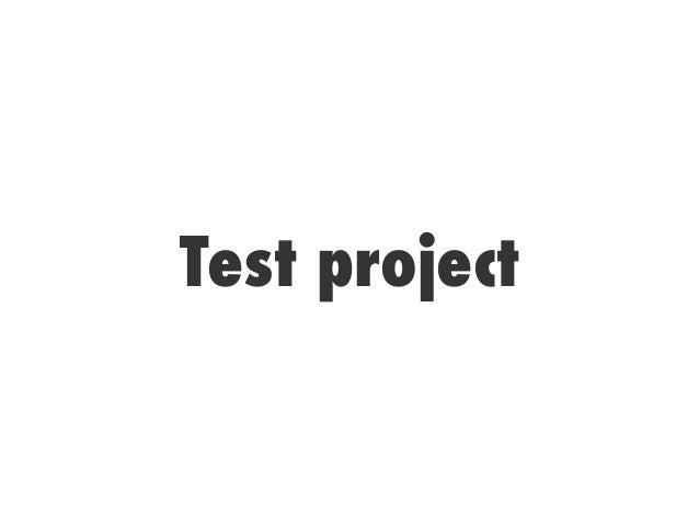 Test project