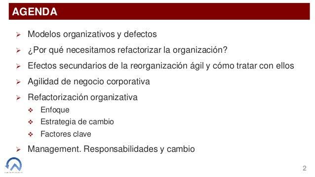 1/2 - Refactorización organizativa Agile - Parte 1 Slide 2
