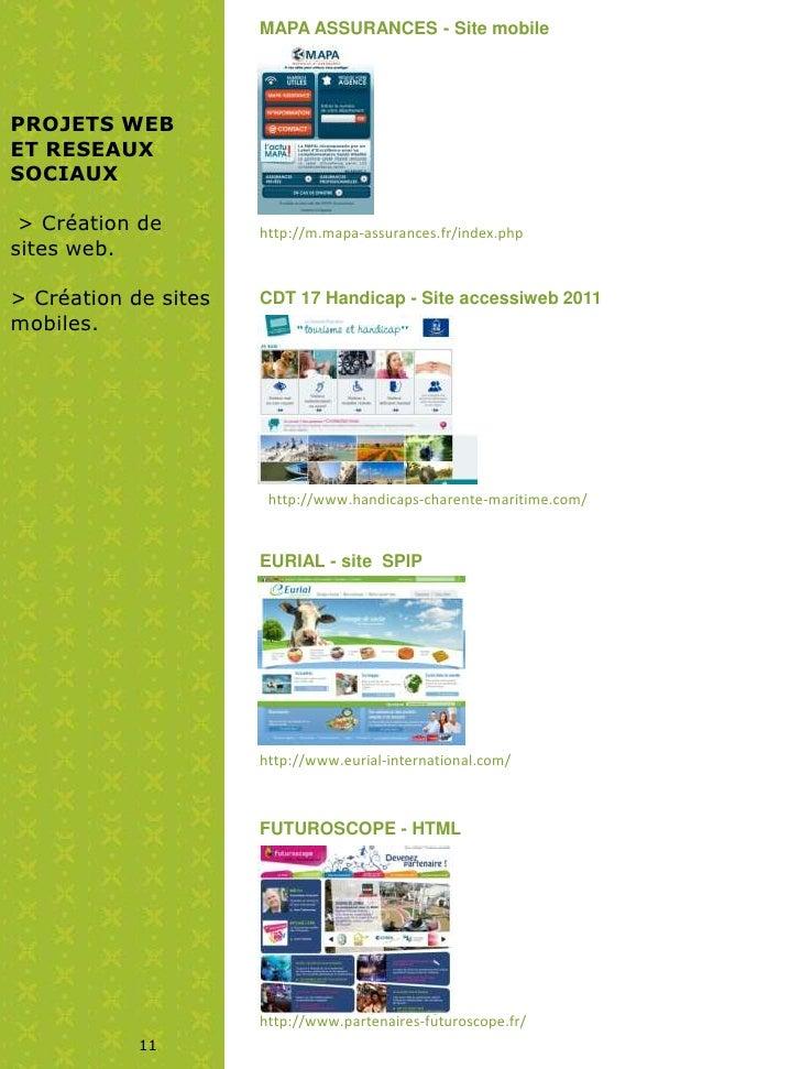 MAPA ASSURANCES - Site mobilePROJETS WEBET RESEAUXSOCIAUX > Création de        http://m.mapa-assurances.fr/index.phpsites ...