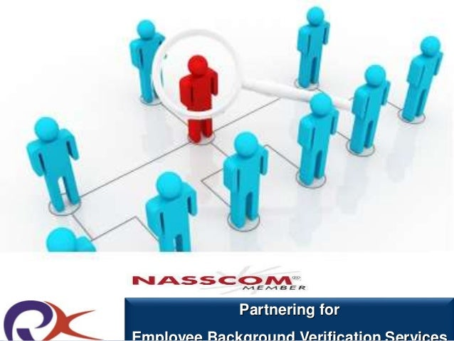 Partnering for  Employee Background Verification Services