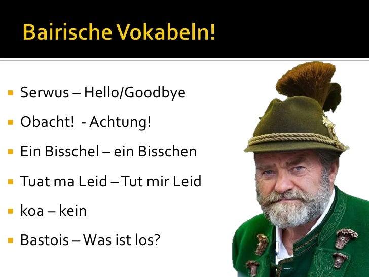 Dahoam in Bayern: Boarisch redn - YouTube