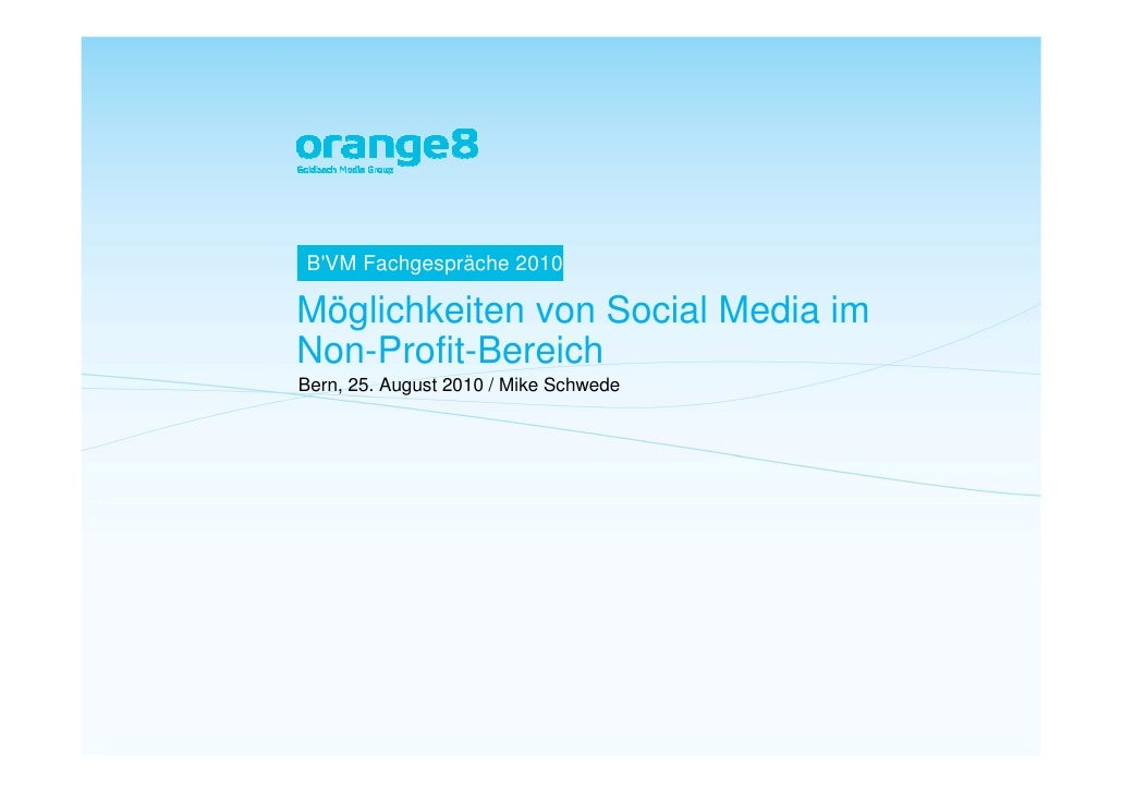 Referat orange8interactive ag