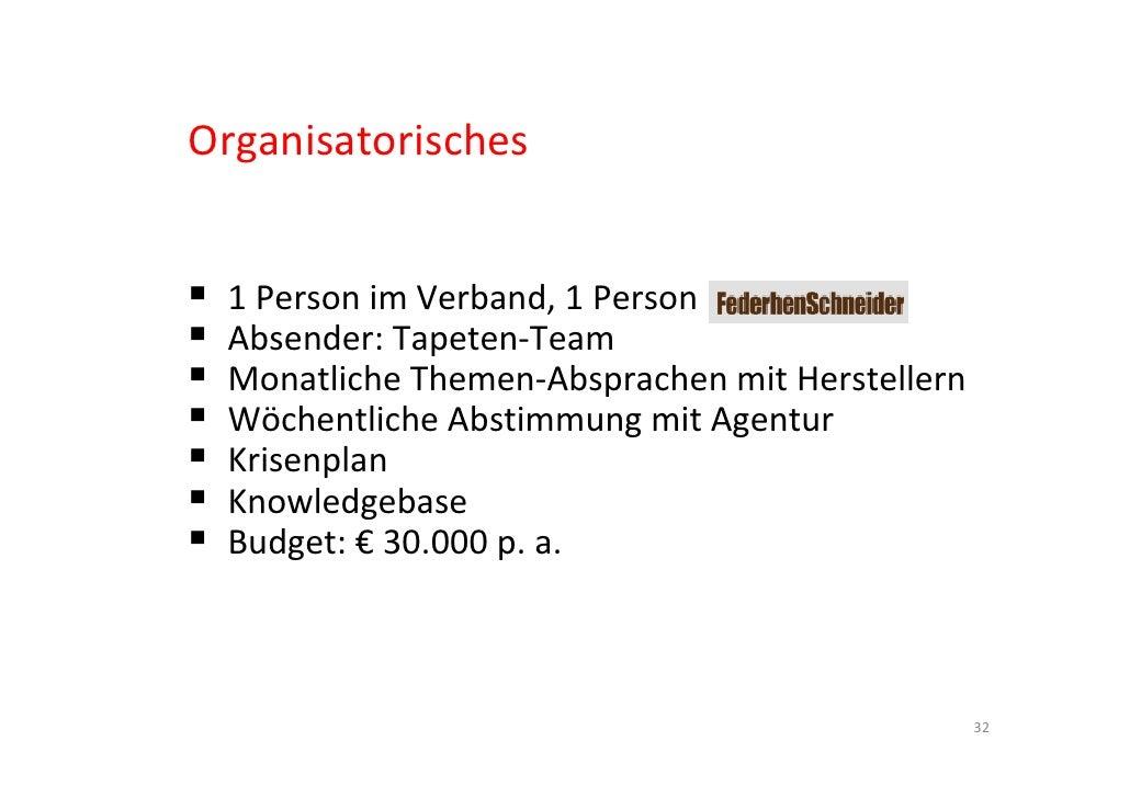 Social Media im Verband Deutscher Tapetenindustrie