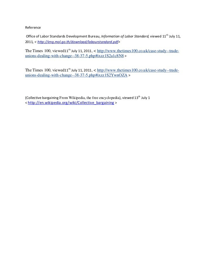 ReferenceOffice of Labor Standards Development Bureau, Information of Labor Standard, viewed 11th July 11,2011, < http://e...