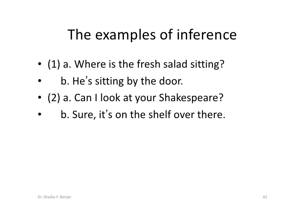 Reference And Inference By Dradiapptx