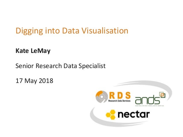 Kate LeMay Digging into Data Visualisation Senior Research Data Specialist 17 May 2018