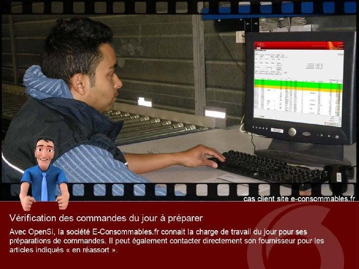 Cas client OpenSi : site E-Consommables.fr